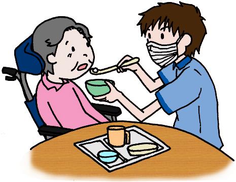 摂食・嚥下障害の方の食事介助の注意点