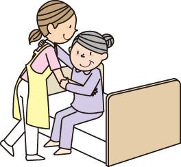 介護ベッドの安全対策と近くに用意するもの